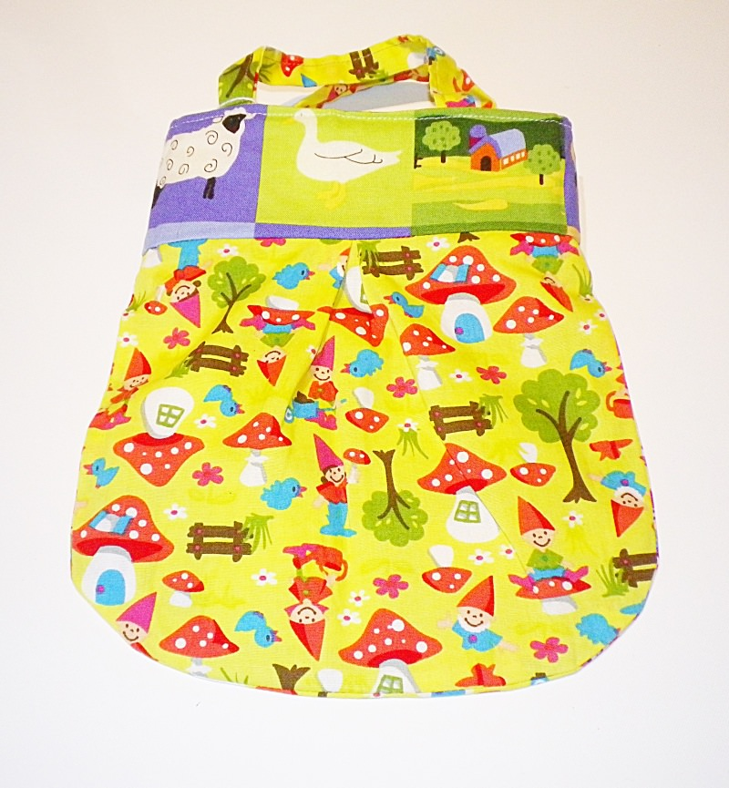 Kleinesbild - Shopper, Kindertasche, Wendetasche für kleine Fräuleins