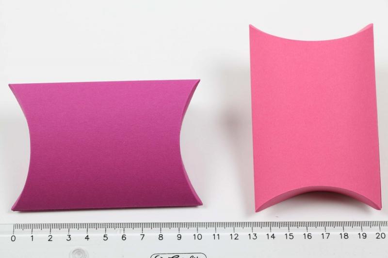 Kleinesbild - 50 Pillow Box Geschenkschachteln Schachteln für Gastgeschenk Adventskalender usw.
