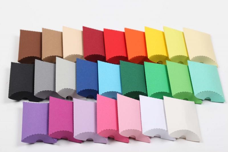 - 24 Mini-Pillow Boxen als Schmuckkarton oder für Tombola usw. - 24 Mini-Pillow Boxen als Schmuckkarton oder für Tombola usw.