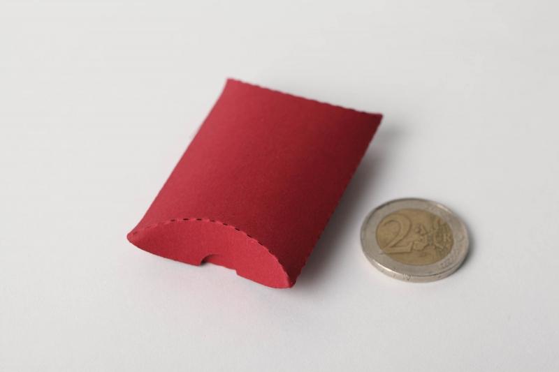 Kleinesbild - 24 Mini-Pillow Boxen als Schmuckkarton oder für Tombola usw.