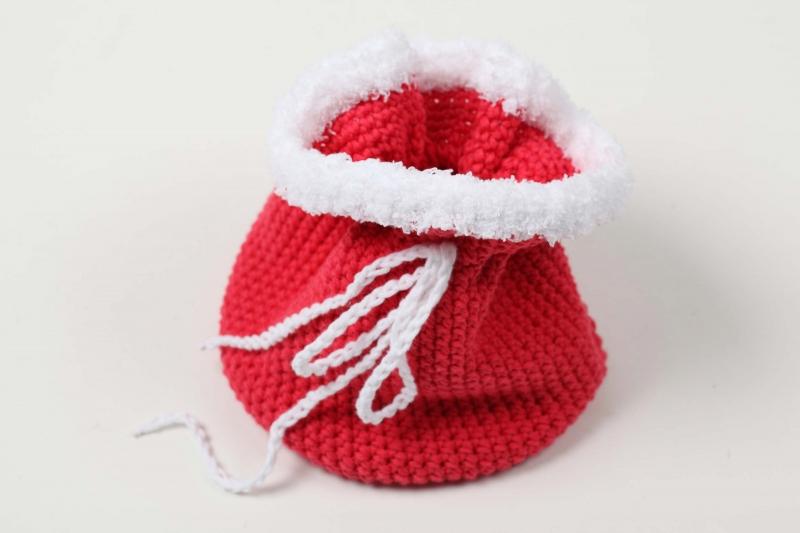 Kleinesbild - Säckchen für den Nikolaus; Nikolaussäckchen Geschenkbeutelchen auch für Weihnachten