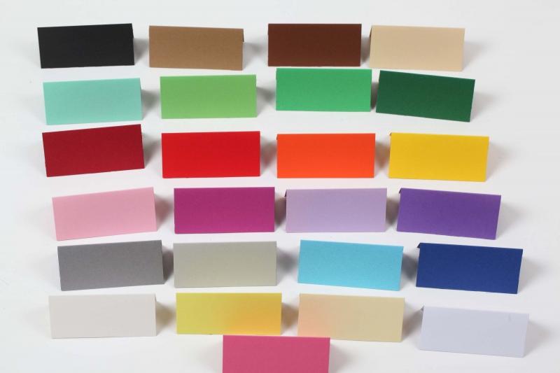 - 50 Tischkarten, Namenskarten, Platzkarten für Hochzeit, Konfirmation, Jubiläum  - 50 Tischkarten, Namenskarten, Platzkarten für Hochzeit, Konfirmation, Jubiläum