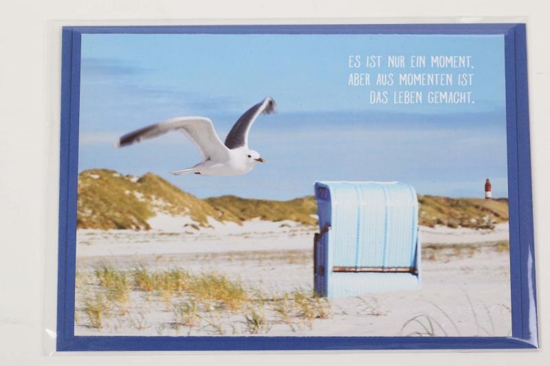 - Grußkarte mit schönem Spruch, upcycled aus einem Kalender mit Lebensweisheiten - Karte - Grußkarte mit schönem Spruch, upcycled aus einem Kalender mit Lebensweisheiten - Karte