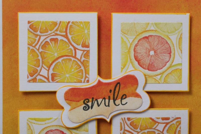 Kleinesbild - Grußkarte 3D Karte in Handarbeit hergestellt Smile