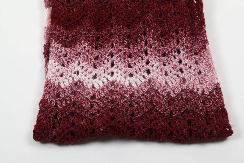 Kleinesbild - XL Schal gehäkelt weich und kuschelig im Winter - schöne Herbstfarben