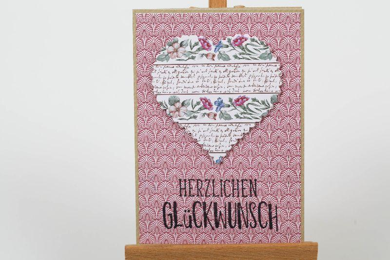 - Herzliche Glückwunschkarte in Handarbeit hergestellt für viele Anlässe - Herzliche Glückwunschkarte in Handarbeit hergestellt für viele Anlässe