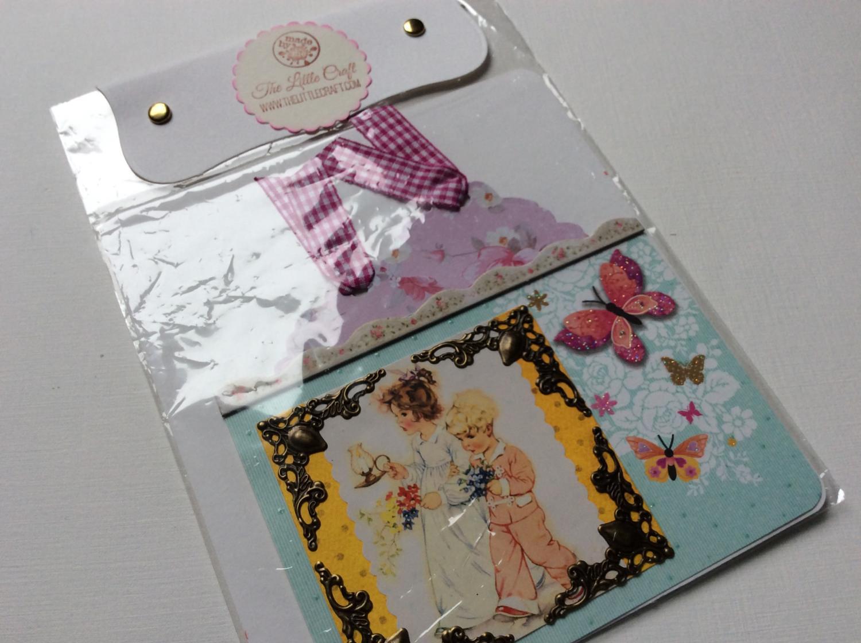 Kleinesbild - 2 Pockets für Scrapbook