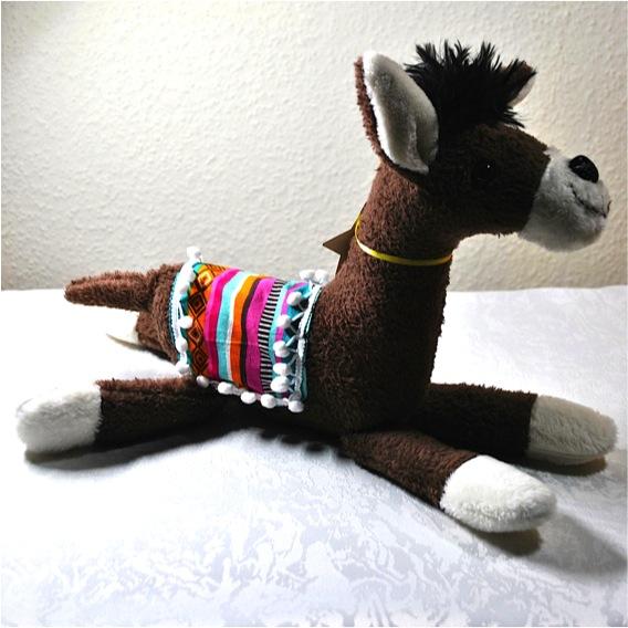 Kleinesbild - *Süsses kleines Lama, zum Kuscheln und Liebhaben. *Lamino-braun