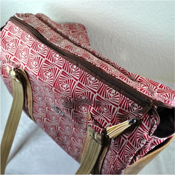 Kleinesbild - Große Umhängetasche,geräumige Schultasche,CollegeTasche
