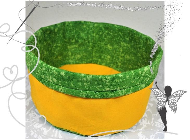 - Utensilo,gelb-grün,Stoffkörbchen,Brotkörbchen gelb,Aufbewahrungskorb,kaufen - Utensilo,gelb-grün,Stoffkörbchen,Brotkörbchen gelb,Aufbewahrungskorb,kaufen