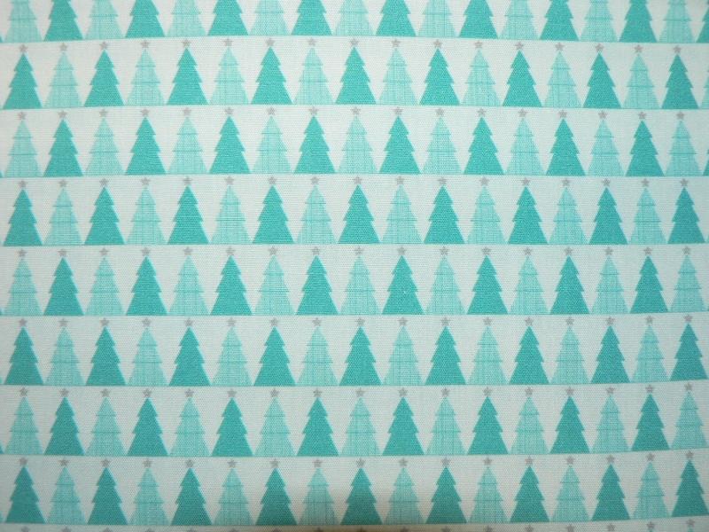 - Weihnachtsstoff Tannenbäume - Weihnachtsstoff Tannenbäume