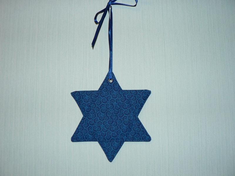 Kleinesbild - Blaue Swirls auf blauem Grund