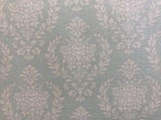 Kleinesbild - Tilda Stoff zartgrün mit Ornamenten