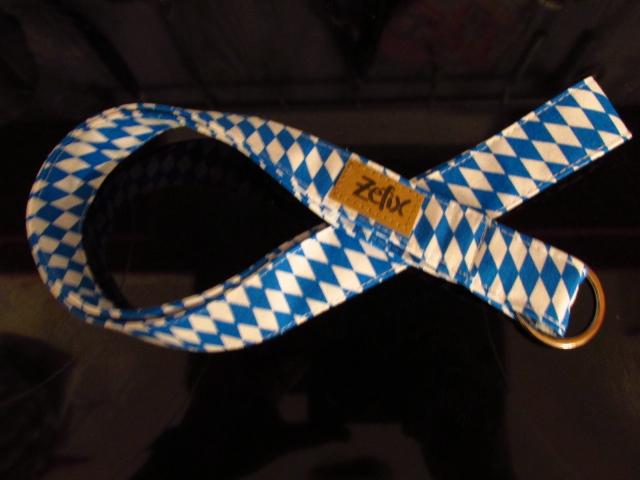 - Schlüsselband lang - bayrisch - zefix - Schlüsselanhänger -blau weiß - Schlüsselband lang - bayrisch - zefix - Schlüsselanhänger -blau weiß