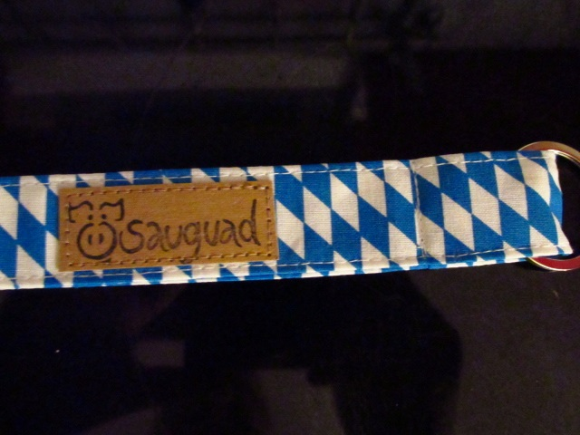 Kleinesbild - Schlüsselband lang - bayrisch - sauguad - Schlüsselanhänger