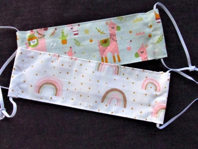 Kleinesbild - Kindermaske - Mundschutz für Kinder - Mund - und Nasenmaske - wiederverwendbar - Kinder - Wale - maritim - waschbar - Mundschutz für die Schule