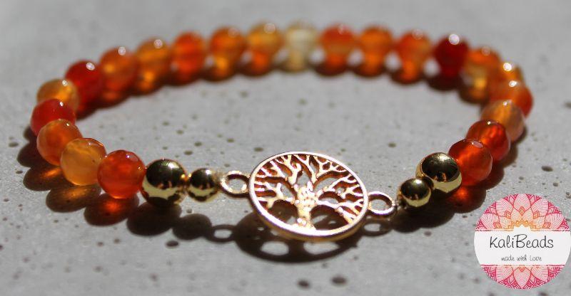 "- Armband ""Tree-of-Life"" aus Naturstein  - Armband ""Tree-of-Life"" aus Naturstein"