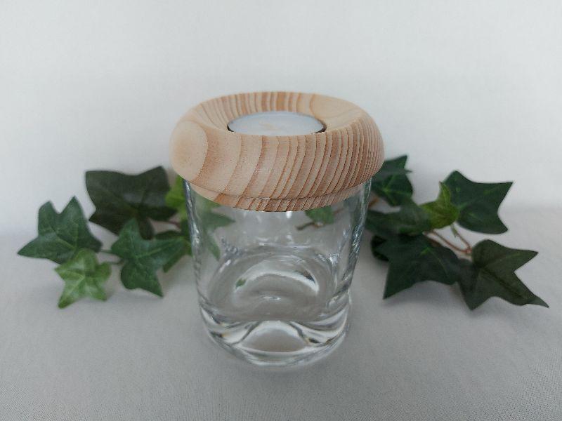 - kleines Dekoglas mit Deckel/Teelichthalter aus Holz, gedrechselt kaufen - kleines Dekoglas mit Deckel/Teelichthalter aus Holz, gedrechselt kaufen