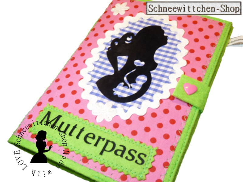 - Mutterpasshülle Mutter mit Locken und Kind in rosa - Mutterpasshülle Mutter mit Locken und Kind in rosa - Mutterpasshülle Mutter mit Locken und Kind in rosa