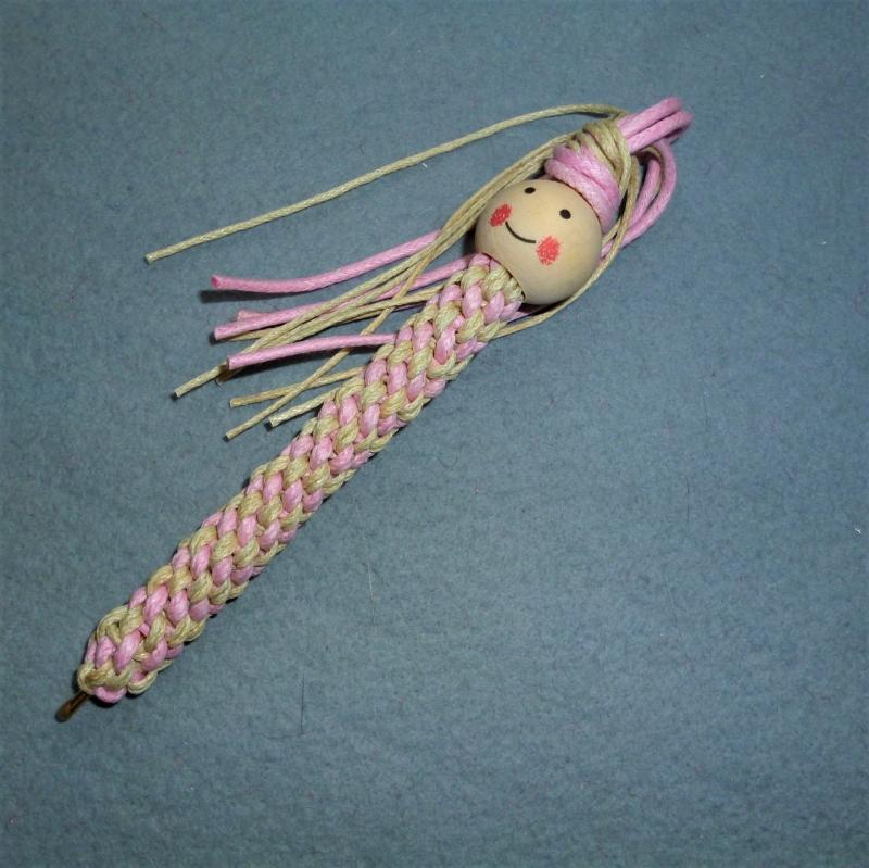 - Lustiger Kugelschreiber mit Holzperle - Geschenk für Mädchen - - Lustiger Kugelschreiber mit Holzperle - Geschenk für Mädchen -