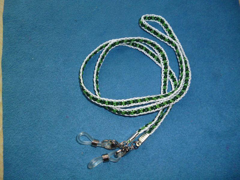 - Handgeflochtenes Brillen-/Masken-/Airpod-Band  aus Schmuckkordel - Geschenk für Frauen und Männer -    - Handgeflochtenes Brillen-/Masken-/Airpod-Band  aus Schmuckkordel - Geschenk für Frauen und Männer -