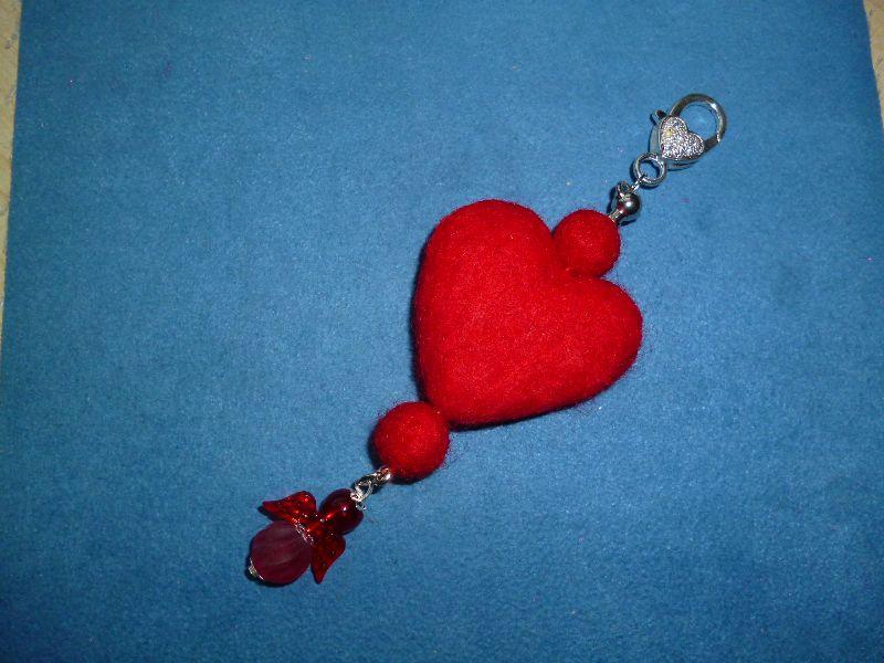 - Taschenanhänger  *Valentinstag*  -  Geschenkidee für Frauen  - Taschenanhänger  *Valentinstag*  -  Geschenkidee für Frauen