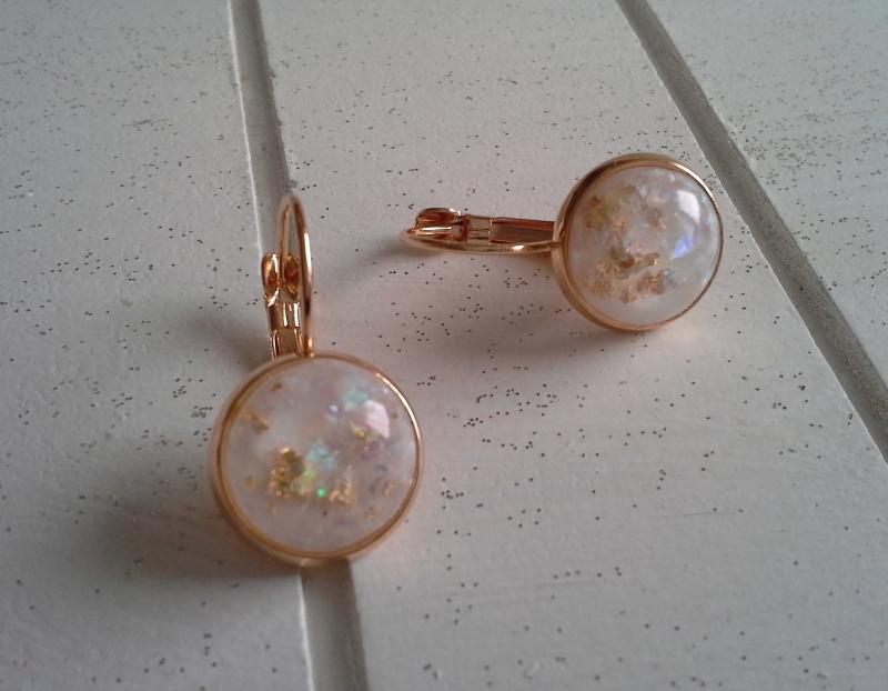 - Ohrringe ♥ Glitter ♥,  ☀ verschiedene Motive ☀   - Ohrringe ♥ Glitter ♥,  ☀ verschiedene Motive ☀