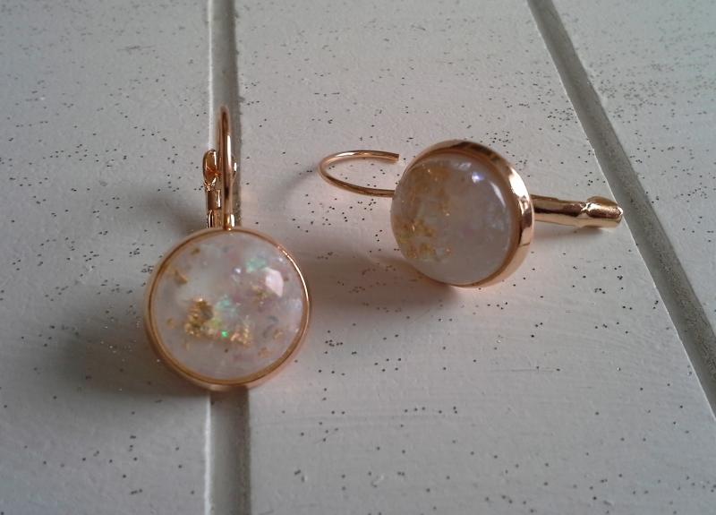 Kleinesbild - Ohrringe ♥ Glitter ♥,  ☀ verschiedene Motive ☀