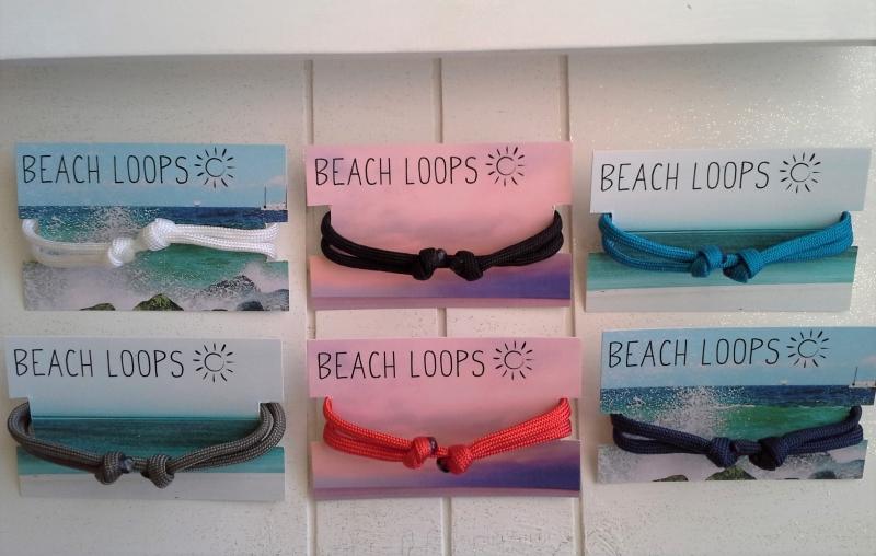 Kleinesbild - Armband ☀ Surfer ☀, Paracordarmband mit Schmuckkarte