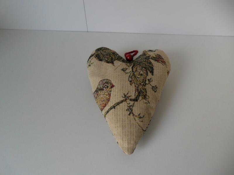 Kleinesbild - Tischset in Herzform  True Love die wahre Liebe