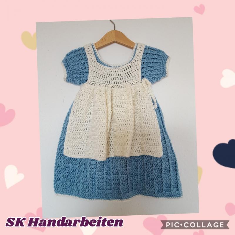 KinderGehäkeltes mit SchürzeAmish StilLandhaus Mode Kleid 35j4RLcASq