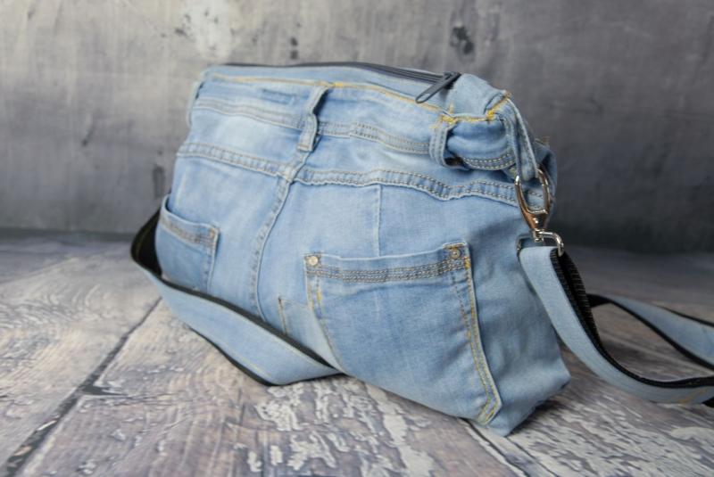 Kleinesbild - Upcycling ★ Schräge Jeans - HosenTasche ★ Unikat