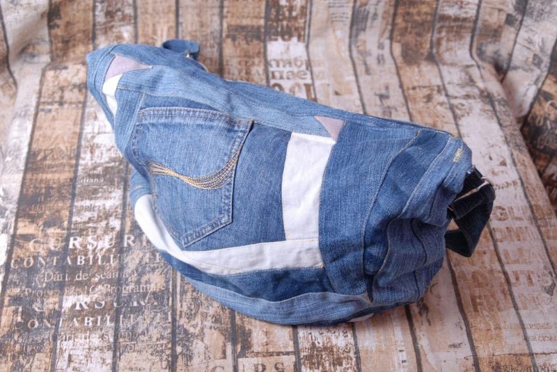 Kleinesbild - Upcycling ★ Jeans im PatchworkTaschen Stil ★ Unikat