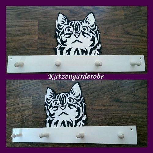 - Handgefertigte Tiergarderobe Katze - Handgefertigte Tiergarderobe Katze