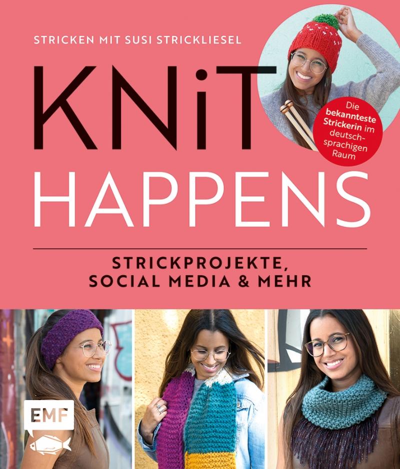 """- das Susi Strickliesel """"Knit happens"""" Buch/wahlweise mit Widmung - das Susi Strickliesel """"Knit happens"""" Buch/wahlweise mit Widmung"""