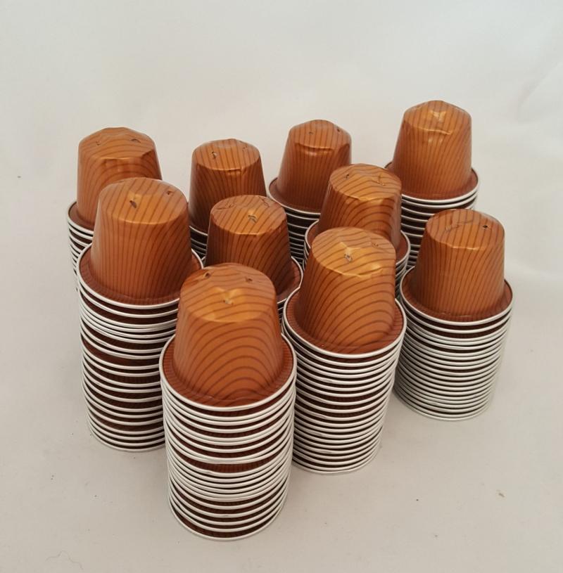 - Kaffeekapseln leer & gesäubert 200 Stck Caramelito * caramell  - Kaffeekapseln leer & gesäubert 200 Stck Caramelito * caramell