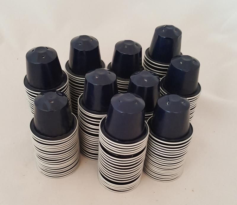 - Kaffeekapseln leer & gesäubert 200 Stück dunkelblau * Kazaar - Kaffeekapseln leer & gesäubert 200 Stück dunkelblau * Kazaar