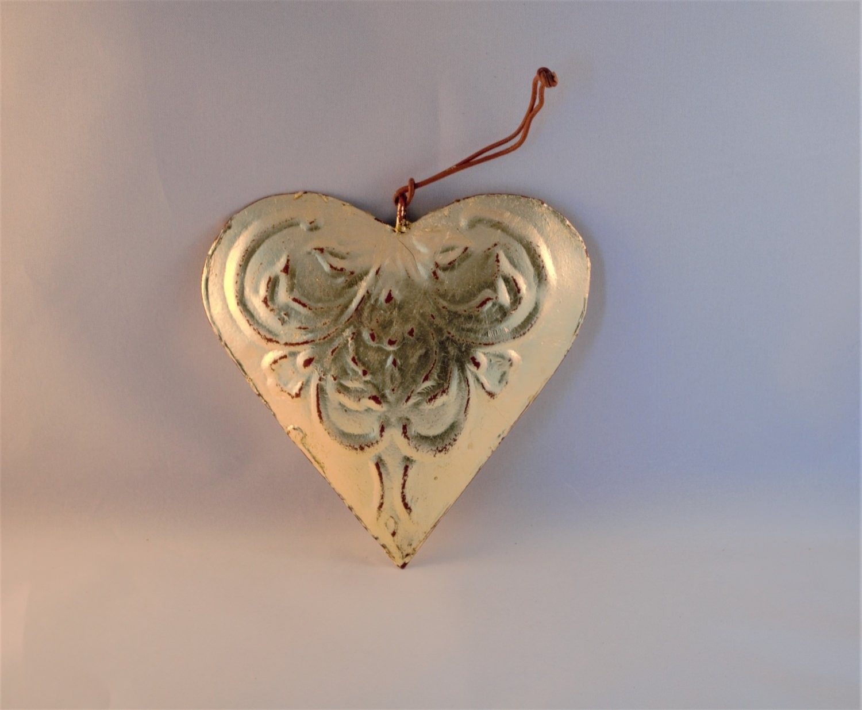 Dekoration Vergoldetes Herz