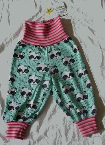 - Pumphose Panda Girl Größe 68 - Pumphose Panda Girl Größe 68