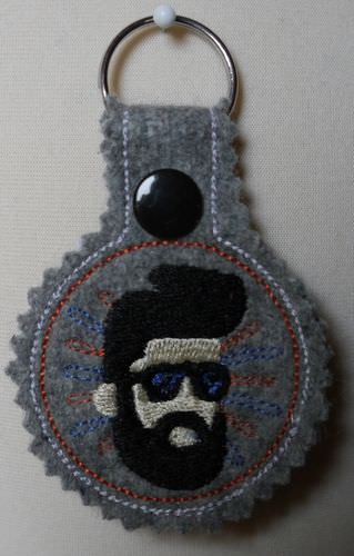 - Schlüsselanhänger Bearded Men Wollfilz - Schlüsselanhänger Bearded Men Wollfilz