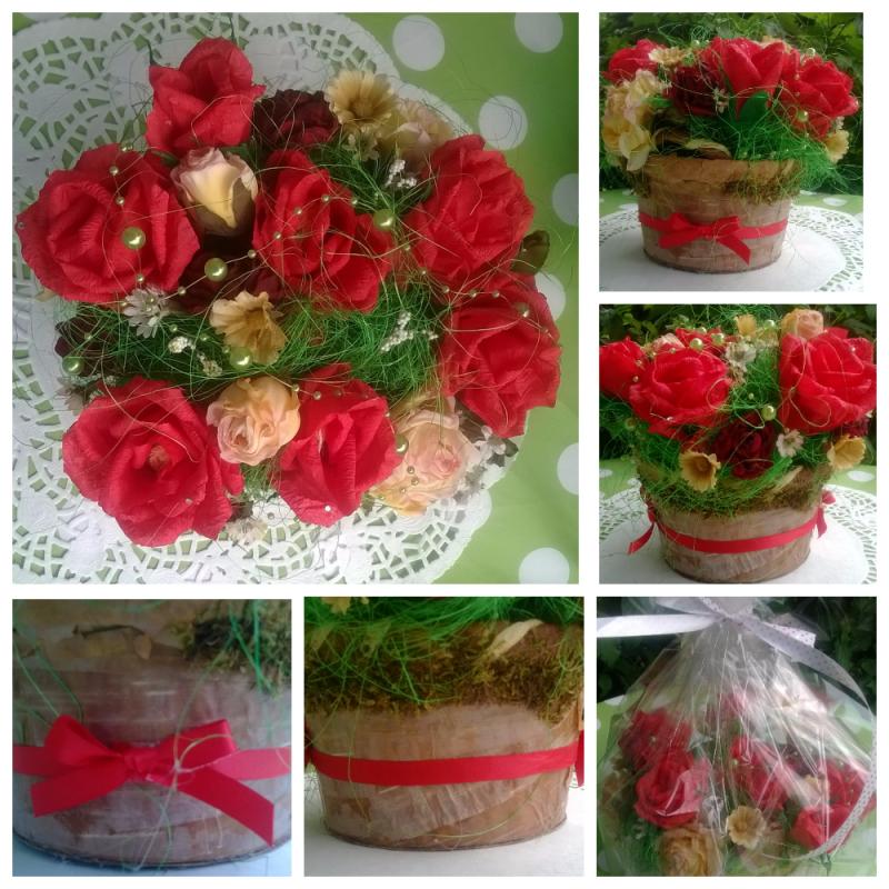 Anlässe Blumenstrauß Mit Süßigkeiten