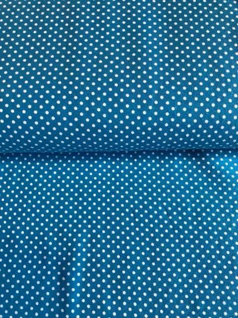 - Jersey - Dots blau/weiß - Jersey - Dots blau/weiß