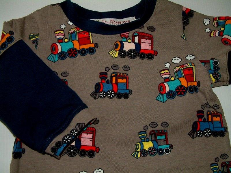Kleinesbild - Babyshirt, Skatershirt, Langarmshirt, Kindershirt, ein Unikat Babyshirt