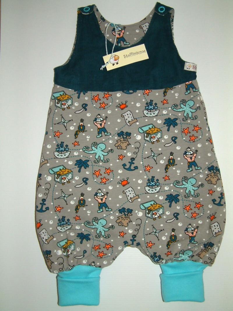 Kleinesbild - Babystrampler, Babyhose,  Babykleidung, extravanter Babyanzug, warmer Strampler