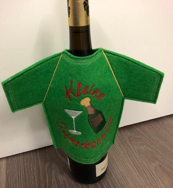 - Lustiges Flaschen T-Shirt Geniale Idee für jeden Anlass/ Geschenke Handarbeit   Geschenkidee Stickerei - Lustiges Flaschen T-Shirt Geniale Idee für jeden Anlass/ Geschenke Handarbeit   Geschenkidee Stickerei