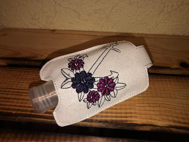 - Taschenbaumler/ Schlüsselanhänger, Anhänger für Desinfektionsmittel Anker   - Taschenbaumler/ Schlüsselanhänger, Anhänger für Desinfektionsmittel Anker