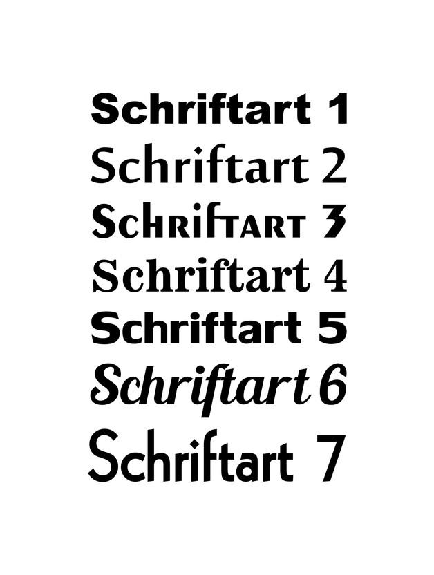 Kleinesbild - Briefkastentattoo in Wunschfarbe und -schrift - Stripe 23 - Namensaufkleber - Adressaufkleber - Personalisiert - Individuell - Individualisierbar - Design Out Of Norm