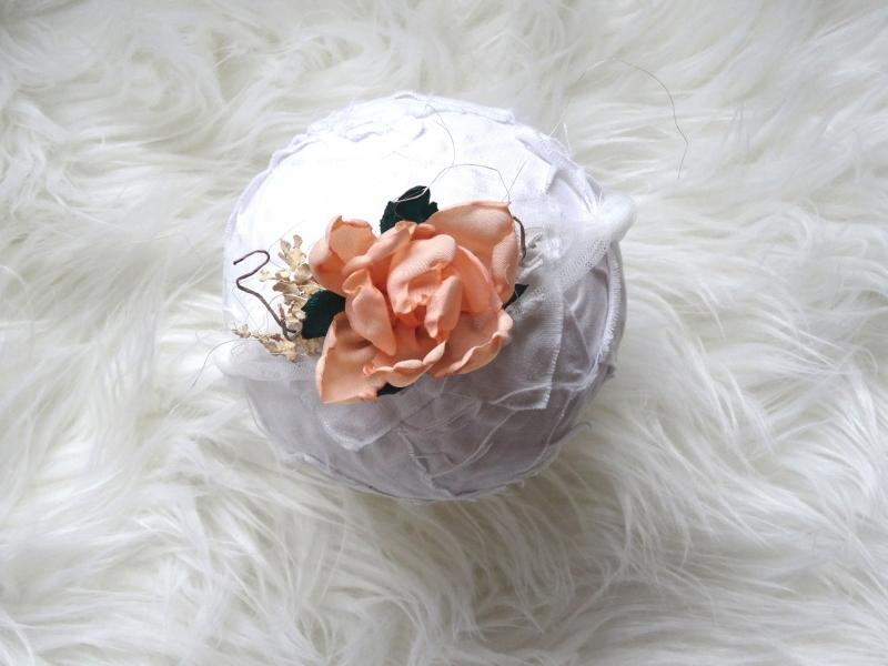 eaa848938bf29 Blumen Haarband Apricot Neugeborenen Foto Stirnband Baby Fotorequisite Taufe  Haarschmuck