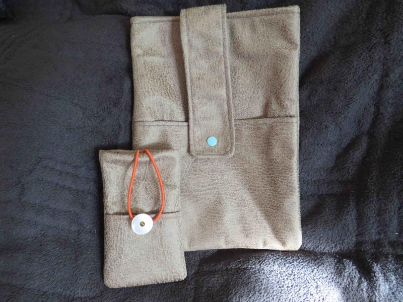 - Mobile set: Taschen für Tablet und Smartphone im gleichen Look - Mobile set: Taschen für Tablet und Smartphone im gleichen Look