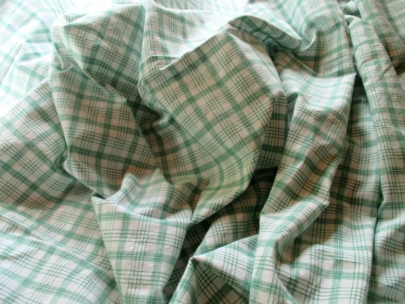 Kleinesbild - Alter Baumwollstoff true vintage 1,25 x 3,70 Meter